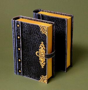 Papercraft imprimible y armable del libro de seguridad / book safe. Manualidades a Raudales.