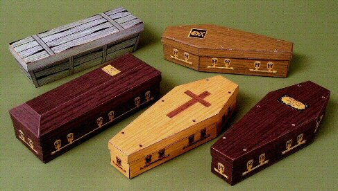 Delux Coffin Boxes