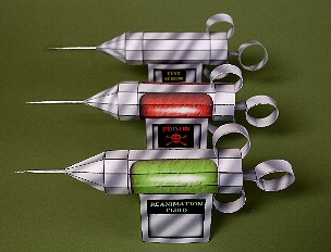 Haunted Paper Toys